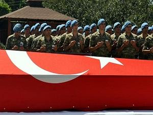 Şehit Binbaşı Arslan Kulaksız uğurlanıyor