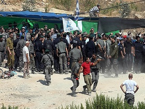 Ramallah'ta yıkım gerginliği