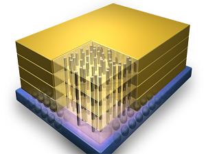 3 boyutlu bellekler geliyor: Işık hızında veri transferi!