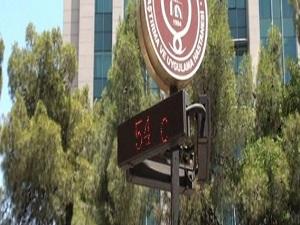 Termometreler 54 dereceyi gösterdi