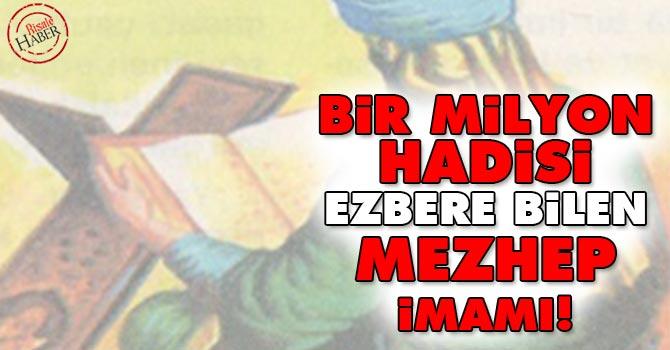 Hanbeli mezhebinin imamı Ahmed İbni Hanbel