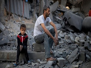 Gazze halkı yoksul ve işsiz