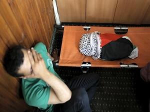 Yakılan Filistinli bebek toprağa verildi