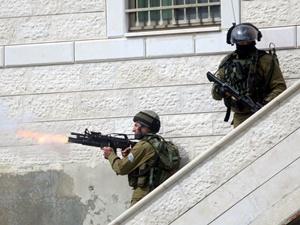 İsrail askerleri gerçek mermi kullanıyor