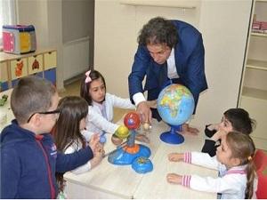 Türkiye'nin ilk 'bilim adamı yetiştiren anaokulu' kuruldu