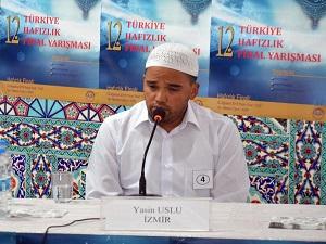 Hafızlık'ta Türkiye 1.si seçildi
