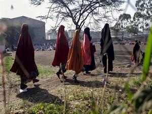 TİKA Somalili kadınlara elini uzattı