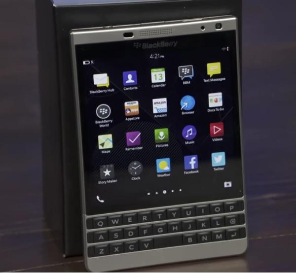 Blackberry Passport Silver Edition satışta!