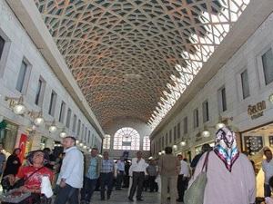 UNESCO Listesine Giren Bursa Kapalı Çarşı Yenilendi