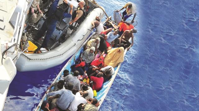 Libya açıklarında tekne Faciası