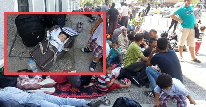 Suriyelilerin içler acısı hali