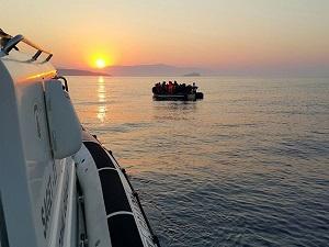Ege'de 4 günde 2 bin 631 kaçak kurtarıldı