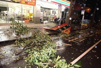 Çin'de tayfun alarmı: 158 bin kişi tahliye edildi