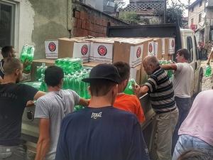 TİKA Makedonya'da afetin yaraları sarıyor