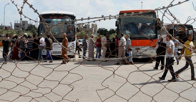 20 bin Filistinli'nin Refah çilesi