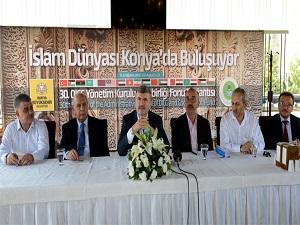 İslam dünyası Konya'da buluşuyor