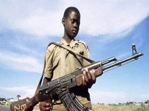 Nijerya'daki çocuk asker sayısı arttı
