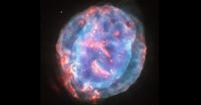 Uzayın mücevheri böyle görüntülendi