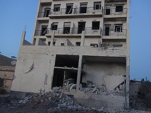 Suriye ordusu sahra hastanesini bombaladı