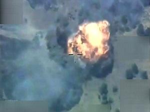 Hakkari'de 17 hedef vuruldu