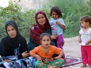 Suriyeli annenin 7 kızıyla yaşam mücadelesi