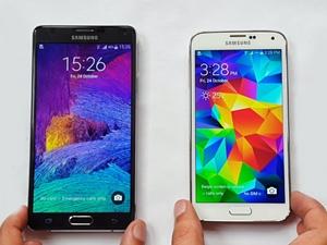 Galaxy Note 5 vs Galaxy Note 4!