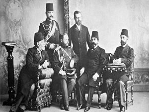 Osmanlı paşaları Rus çarının taç giyme merasiminde