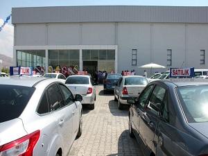 2. el araçların müzayede ile satılacağı işletme açıldı