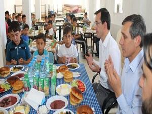 İscehisar'da Kur'an Kursu'na ziyaret