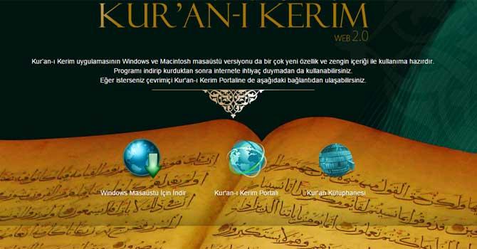 Kur'an portalında müthiş kolaylık