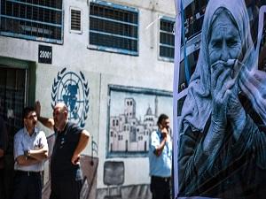 Gazzeli kadınlardan BM'yi protesto