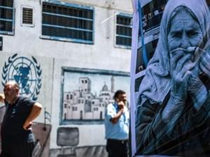 Gazzeli kadınlar BM'yi protesto etti