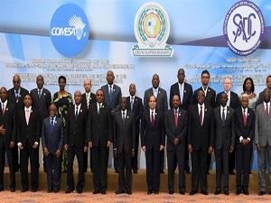Afrika barış için toplandı