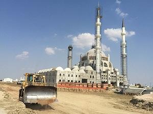 KKTC'de 'Hala Sultan Camisi' hızla yükseliyor