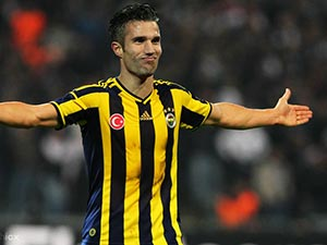 Fenerbahçeli Van Persie camide cemaati görünce...
