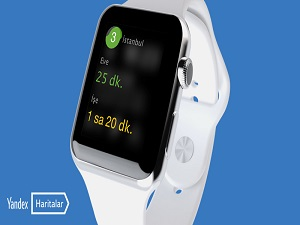 Yandex.Haritalar artık Apple Watch'ta