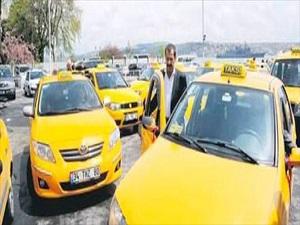 Taksi şoförleri de sendikalı olacak