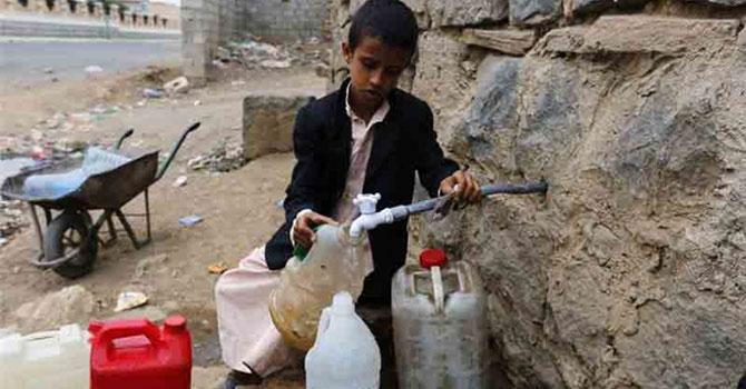 Yemenliler açlıkla karşı karşıya