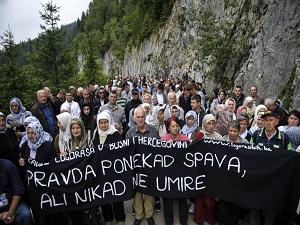 Bosna'da Koriçanske Stiyene kurbanları anıldı