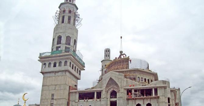 Moskova'daki camiyi Erdoğan ve Putin açacak