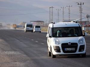 Iğdır-Doğubayazıt karayolu ulaşıma açıldı