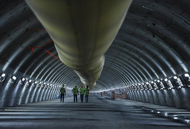 Avrasya Tüneli'nde kazı çalışmaları tamamlandı!