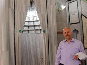 Kayseri'de örnek imam