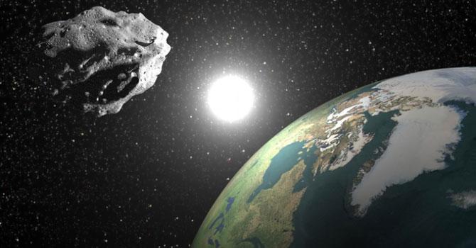 NASA asteroidin dünyaya çarpma yüzdesini açıkladı