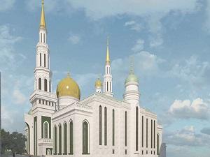 Türk inşaatçılardan Moskova'ya cami...