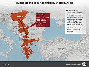 Balkanlar 'umuda yolculuğun' geçici durağı oldu