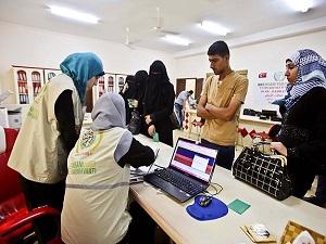 İHH'dan Gazzeli yetimlere yardım