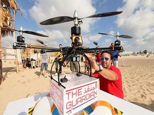Bu 'drone' can kurtarıyor!