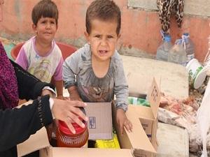 Suriyelilere yardımlar sürüyor