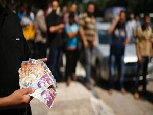 Gazzeli öğretmenlerden maaş eylemi